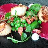 Scallops-CHILL Restaurant Bar-Bell City Preston
