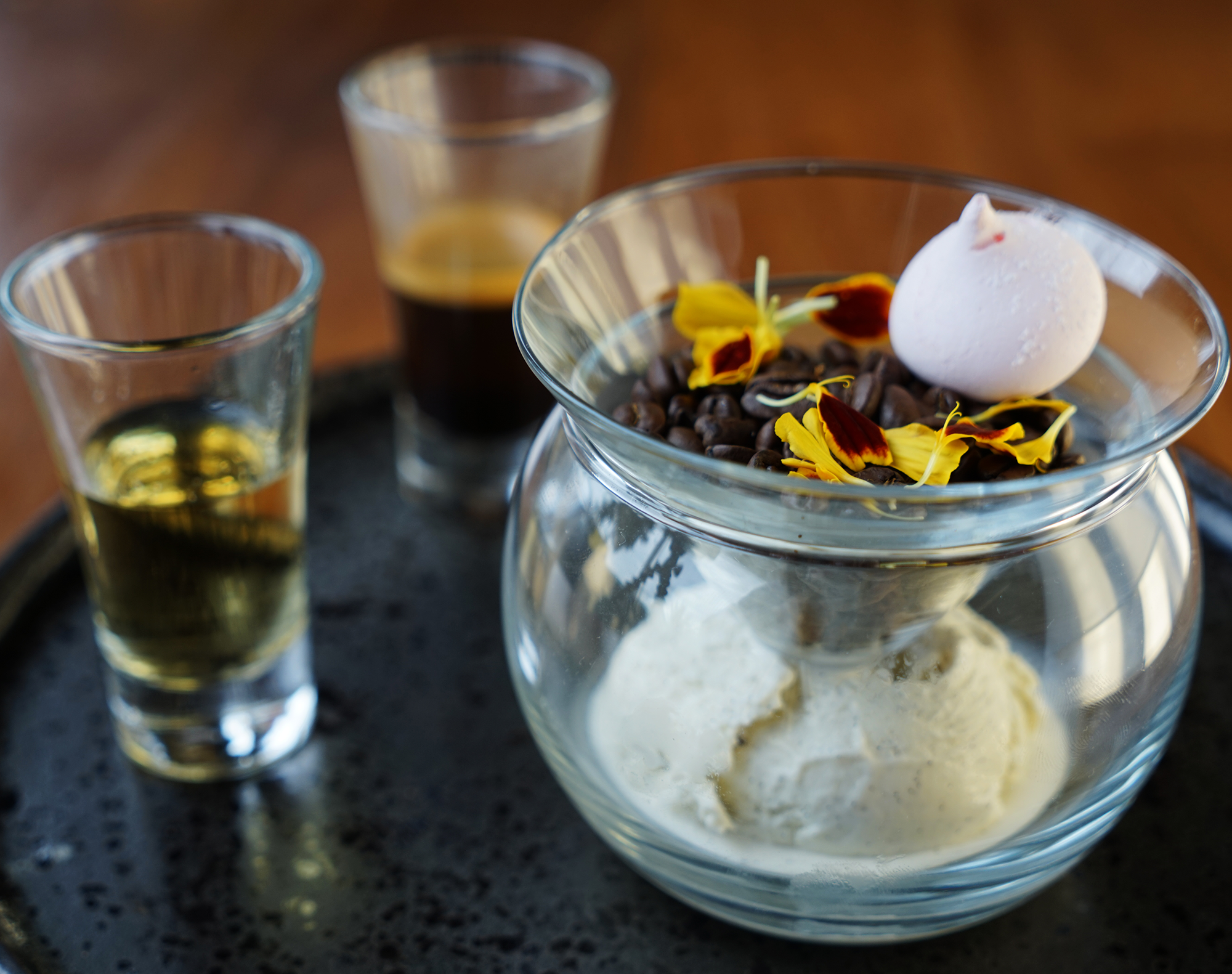 Affogato - site menu