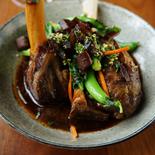 Confit lamb shank-CHILL Restaurant Bar-Bell City Preston