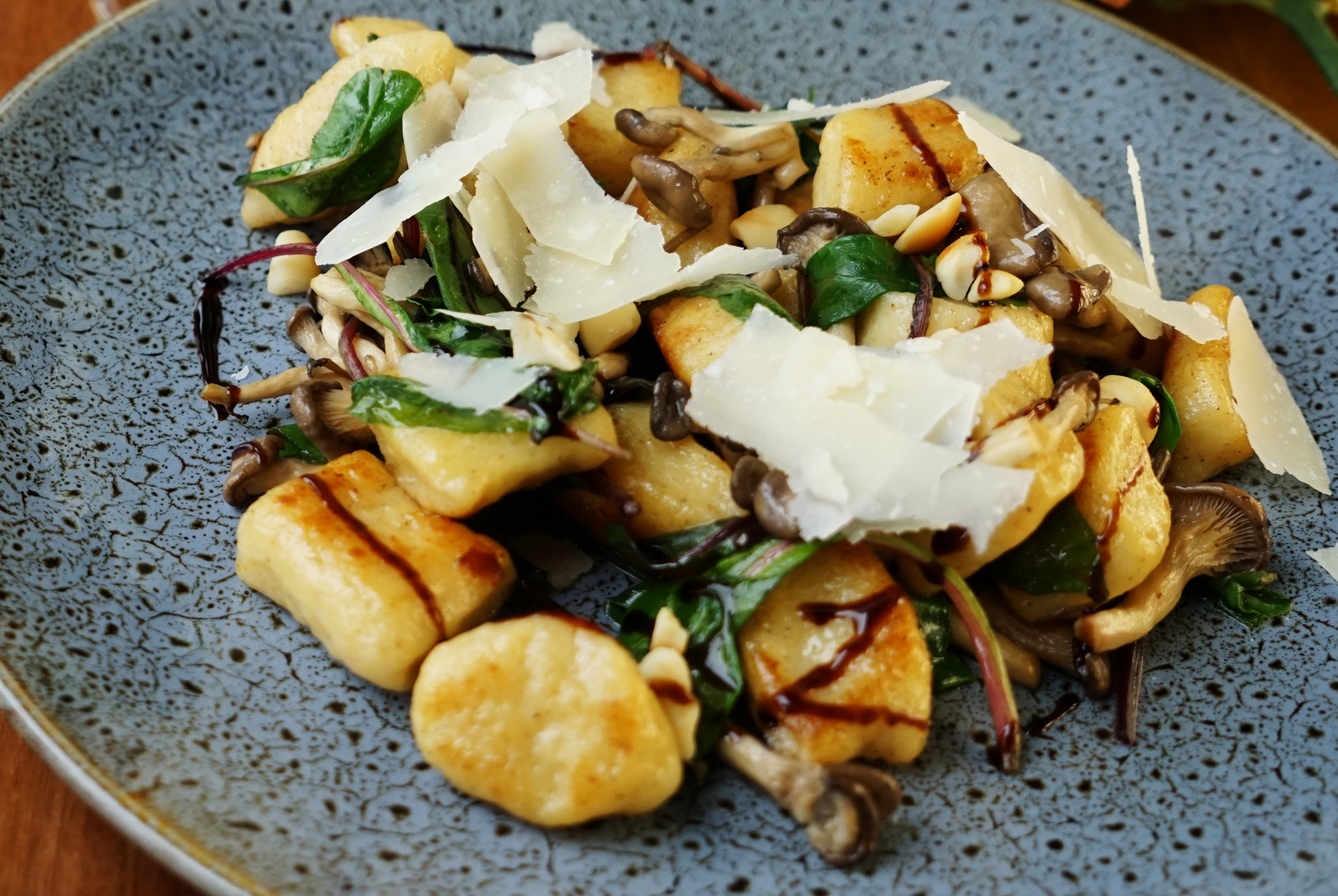 Potato gnocchi - site menu