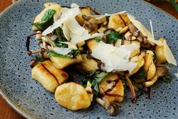 Potato gnocchi - site menu