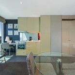 1 Bed Manhattan Living Kitchen-Mantra Bell City Preston -Bell City Preston