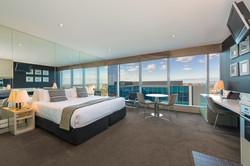 One Bed Manhattan Bedroom