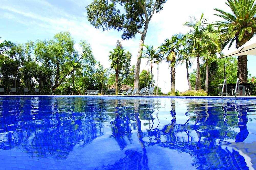Hotel pool Melbourne