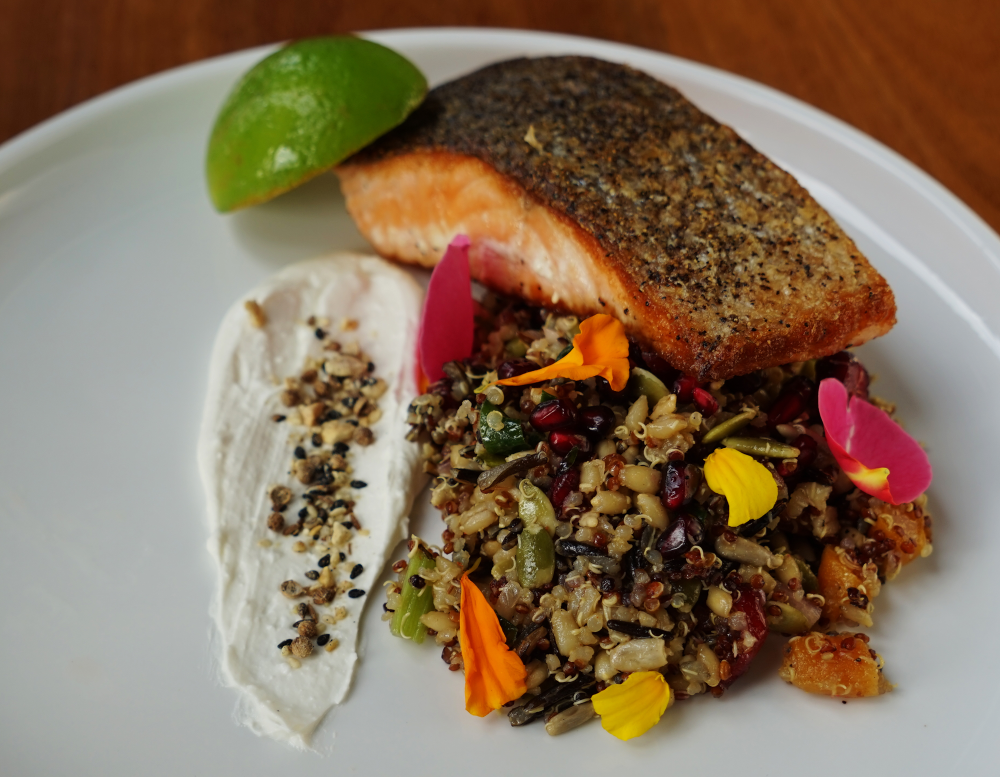 Huon salmon TAS - site menu