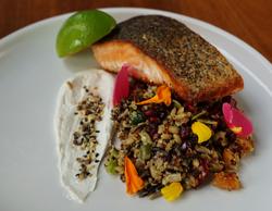 Huon salmon TAS - site menu