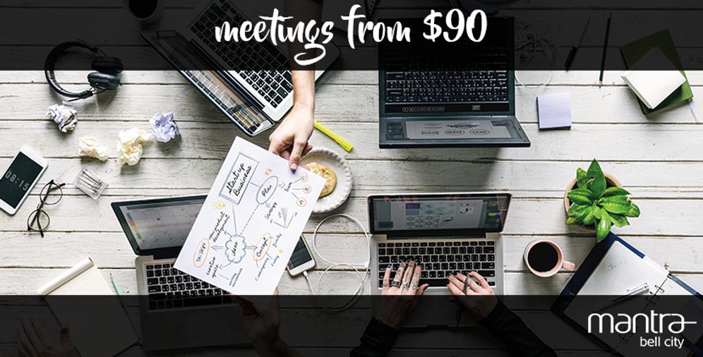 Meetings at $90 - Bell City Preston