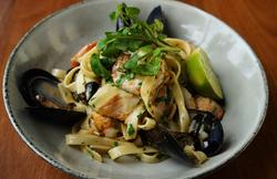 Fettucine seafood - site menu