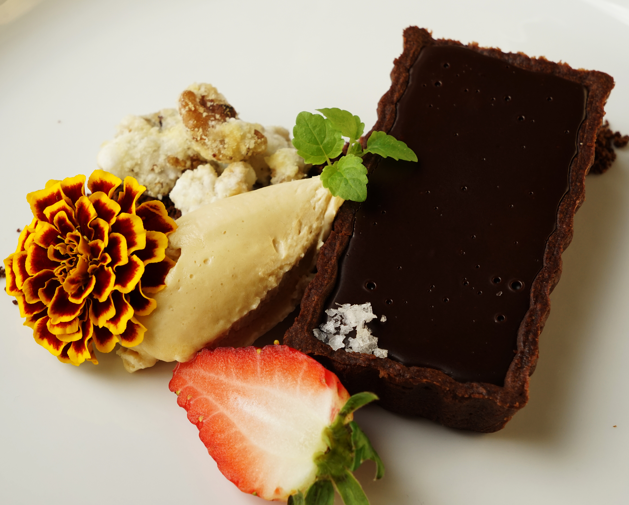 Chocolate tart - site menu