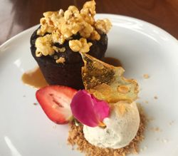 Sticky date pudding - site menu