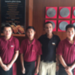 Primero Students hired for Global Grill.