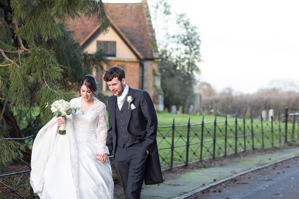 Liz and John's Winter Wedding