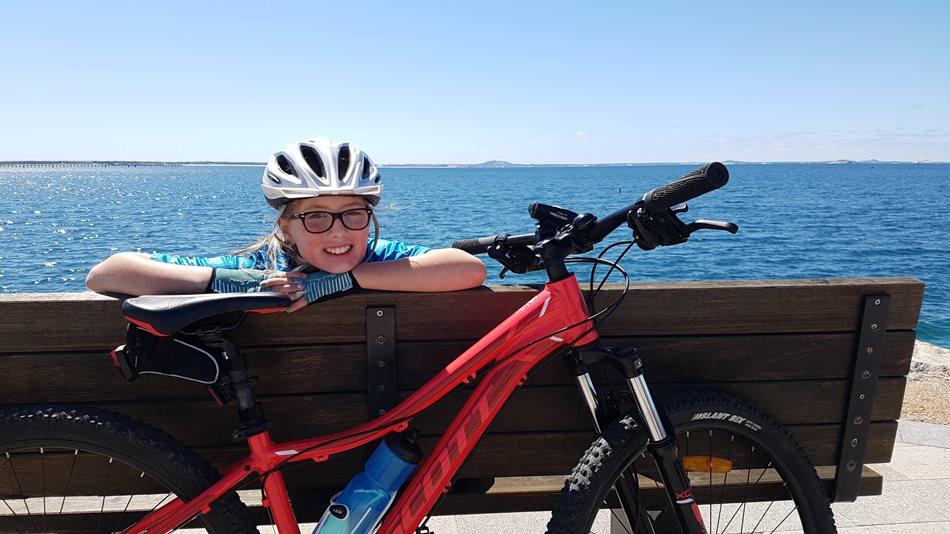 Imogen Kuipers 12 years old GCC rider