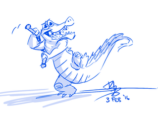 """Ninja Gator"" or ""Nuncrocks!"""