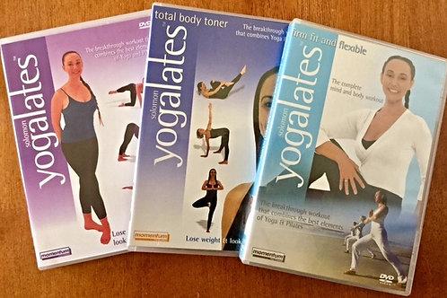 Relaxation & Rejuvenating Pack 3 DVDs