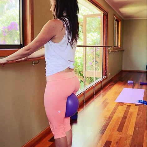 Discover the benefits of Barre Yogalates with Bec! 🍑 Work your legs, butt and thighs in a whole new and fun way ...jpg