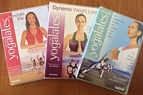 Weight Loss Pack 3 DVDs
