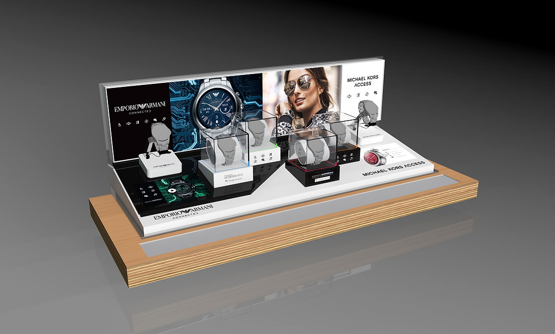 Fossil Smart Watch display unit