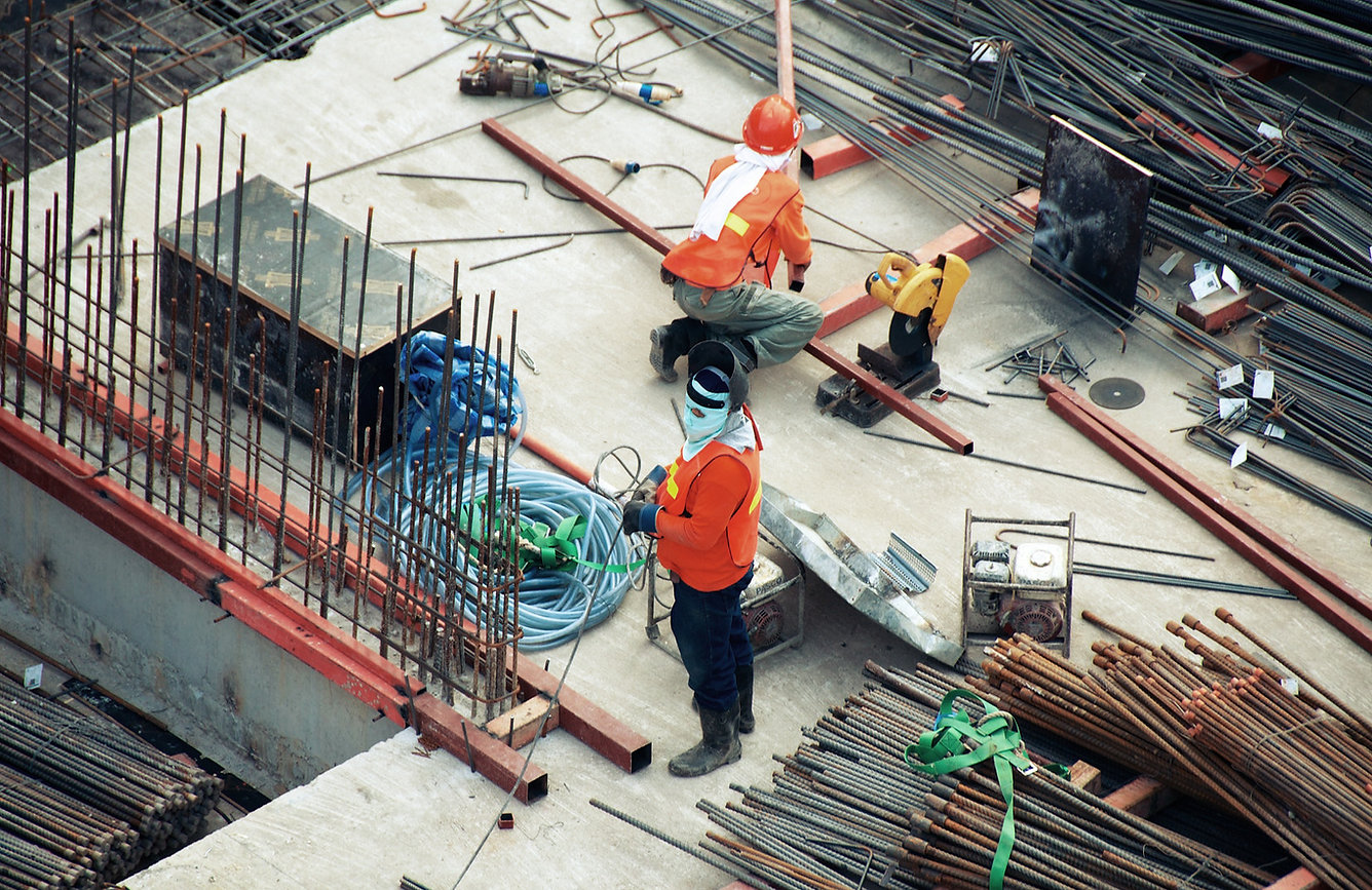 Men on Construction Site