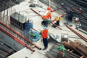 Men on Construction Site