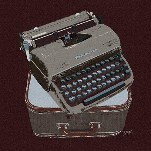 Typewriter print - Nashville Remington