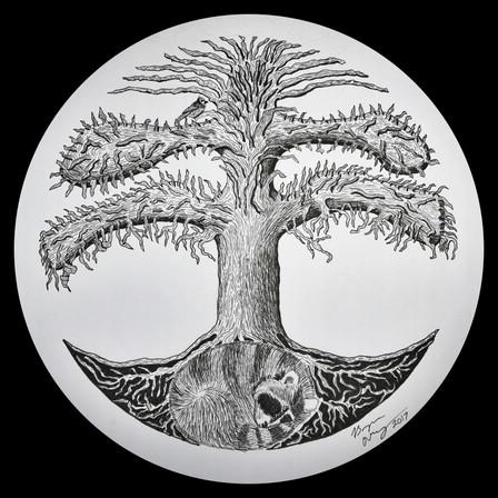 Regular Tree of Life