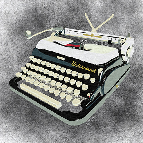 Typewriter print - Tuxedo Revival