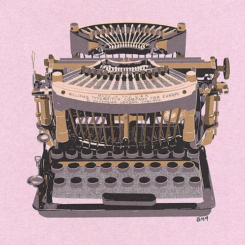 Typewriter print - Williams 1