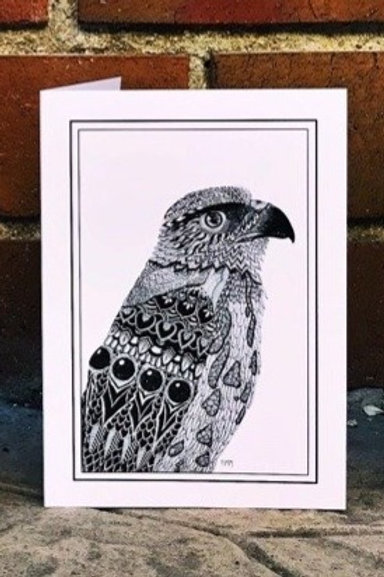 Falcon - Greeting Card