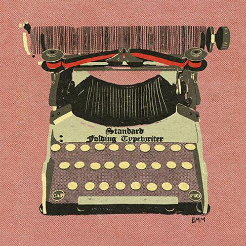Typewriter print - Standard Folding