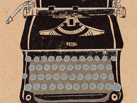 So many typewriters.