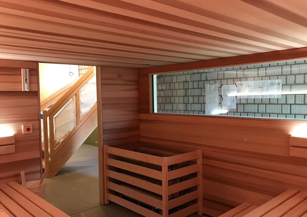 Sauna Cube