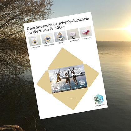 100 Franken Geschenk-Gutschein,  Printen & Basteln