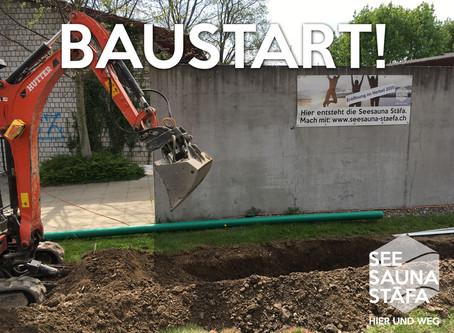 Baustart der Seesauna! 🏗