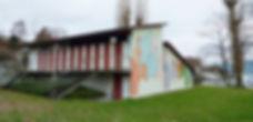 Das alte Garderobenhaus Seebad Lattenberg