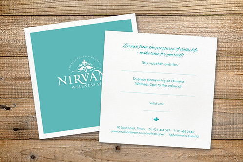 60 min - Nirvana Massage Therapy Voucher