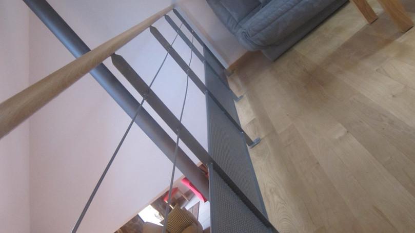 Mezzanine - vue sur salle à manger