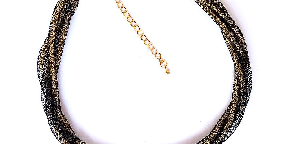Ожерелье Золотые сети