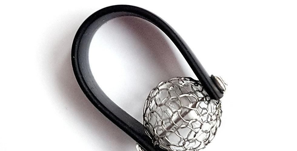 Кольцо Новолуние под серебро