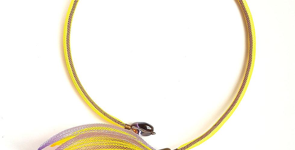 Чокер из сетки Лилия разноцветный