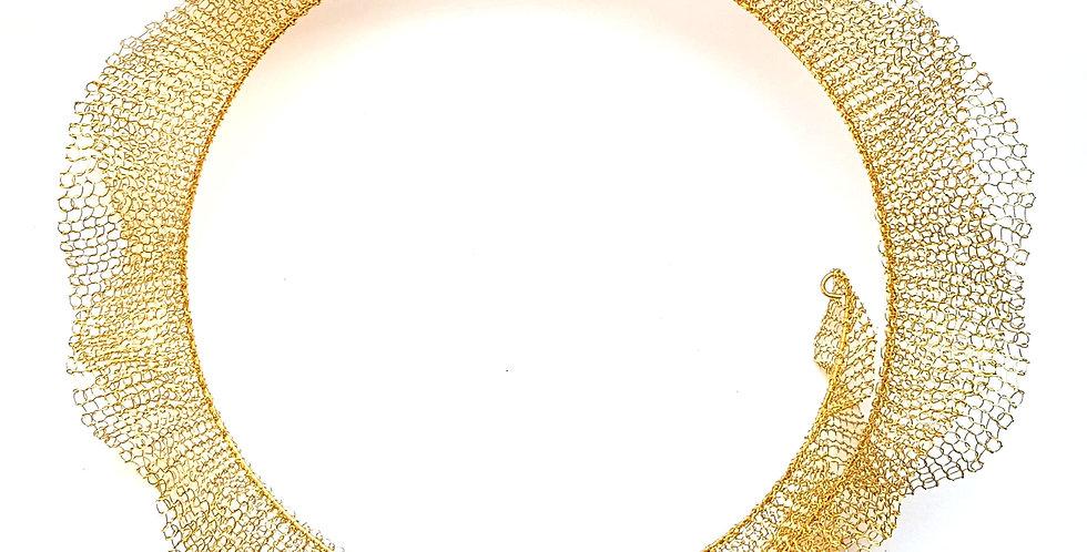 Чокер из проволоки Воздушный латунь
