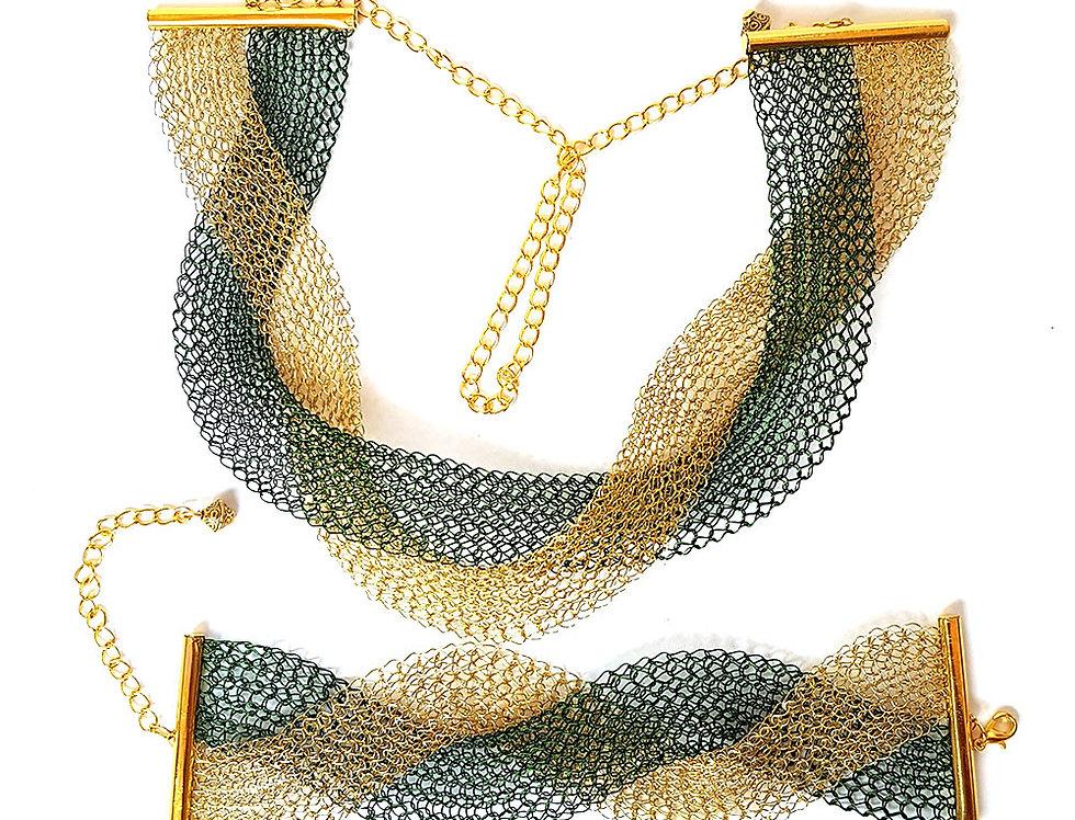 Комплект Золото в траве