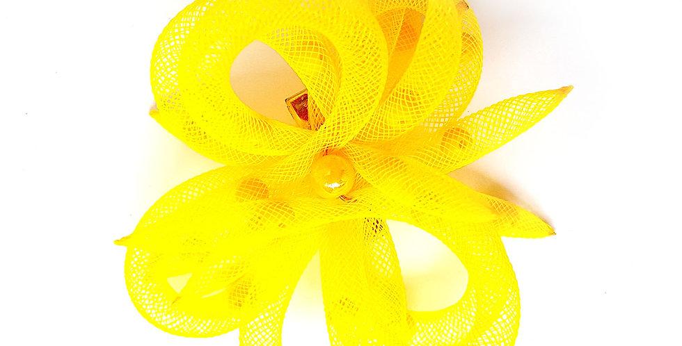 Зажим Желтый цветок