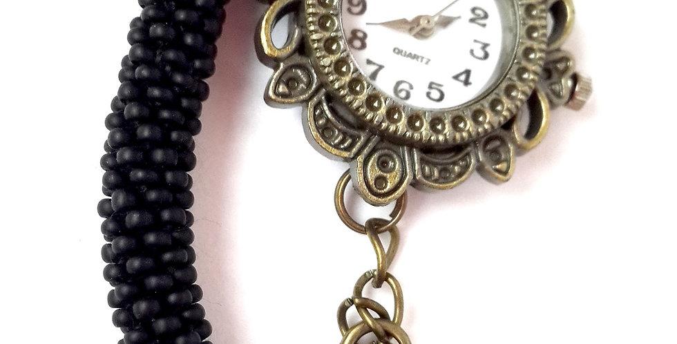 Часы-трансформер черные матовые