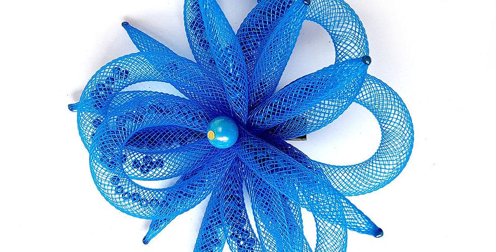 Зажим Синий цветок