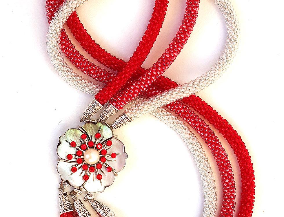 Ожерелье Аленький цветочек