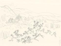 Sityscape sketch, New Athon