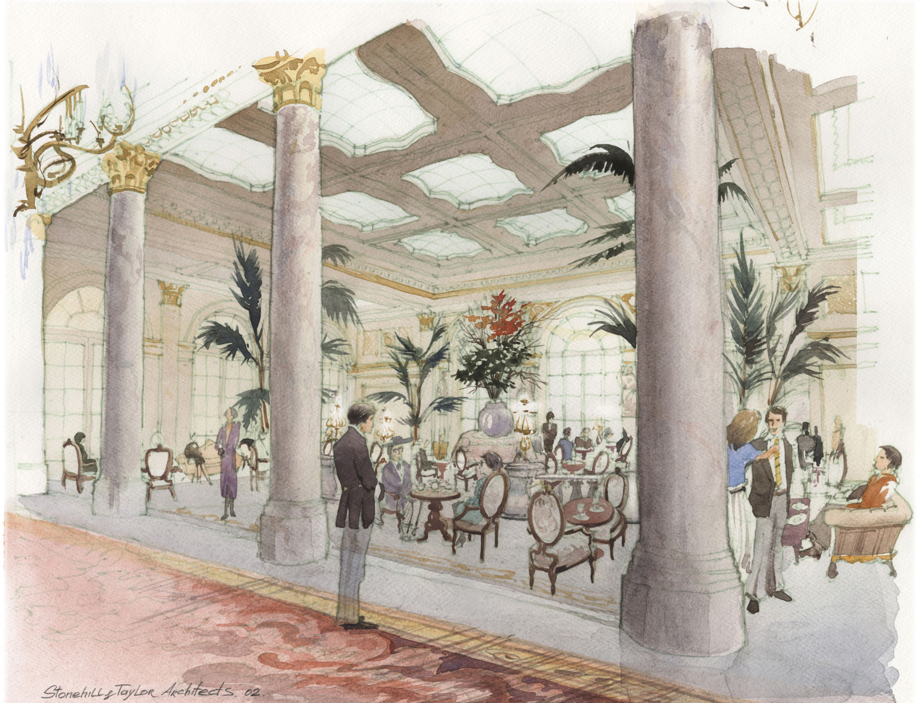 The Plaza Hotel, Palm Court