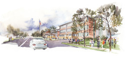 Springfield Elementary School sketch