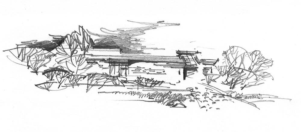 Mikvah project pre-concept sketch